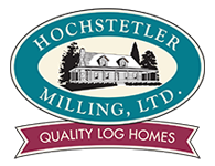Hochstetler Milling, LTD Quality log Homes Logo